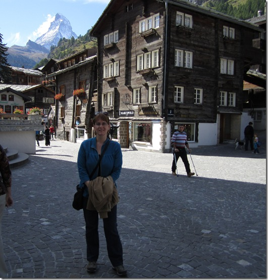 Simone in Zermatt