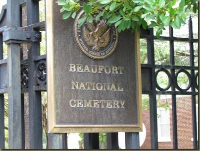 Beaufort National cemetary