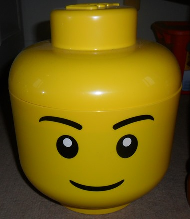Argos Lego Storage Head