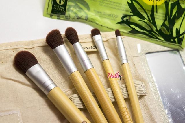 pincéis ecotools kit brushes