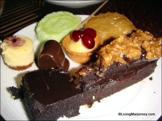Acacia Hotel: Acaci's Dessert