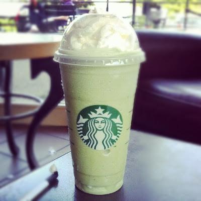 Venti Green Tea Frappuccino