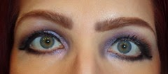 wearing Measurable Difference Lash Amplifying Liquid Eyeliner