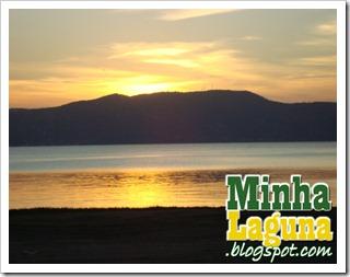 Pôr do sol em Laguna