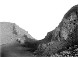 Gap in the crater wall of Gunung Slamet (unknown photographer, 1922) Courtesy TropenMuseum Archives