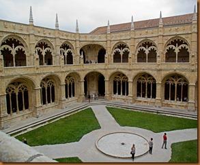 Lisbon, monastery cloister