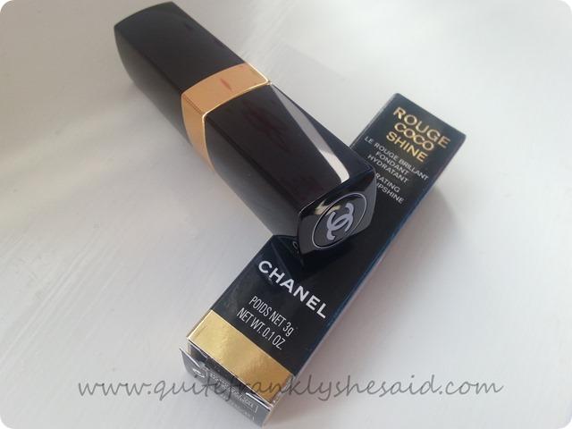 Chanel Rouge Coco Shine lipstick 66 Bel Ami