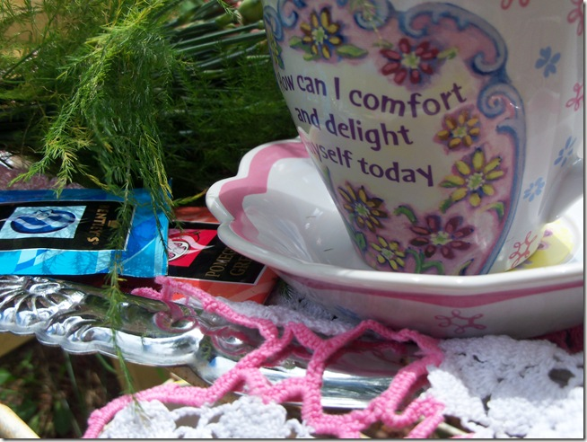 Carnation tea tray 014