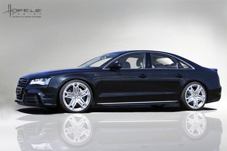 2011 Audi A8 D4 SR 8 by Hofele-Design side view