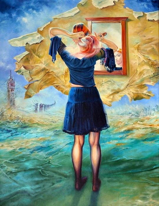Женские портреты Влодзимеж Куклински (24 фото) | Картинка №18