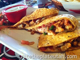 Chili's Honey Chipotle Chicken Quesadillas3