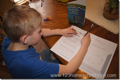 Magic Tree House Book Report from Enchanted Homeschooling Mom Members Only Site