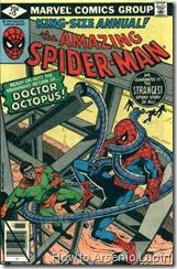 The amazing spider-man annual #13, el Doc Ock y spidey tienen un enfrentamiento epico en esta historia sobrenatural que solo prueba que cuando spidey quiere puede ser invencible.
