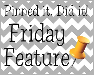 pinned it friday feature