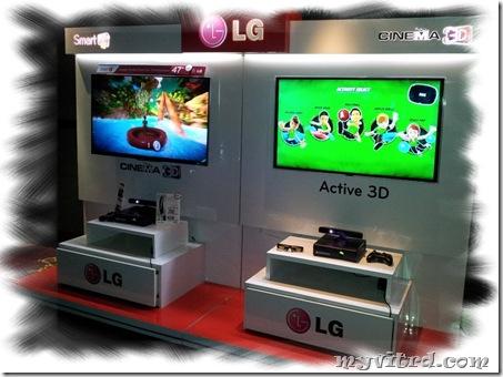 LG Cinema 3D SMART TV 3D Smart Games