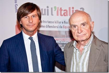 Alberto Goffi Antonio Lubrano autori libro E qui l italia