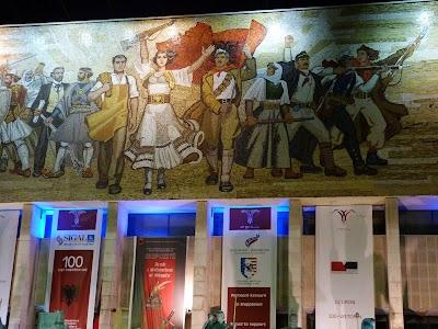 Mozaic in Tirana