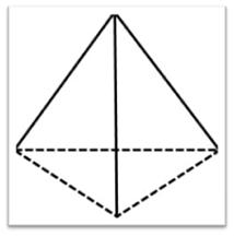 Piramide de base triangular