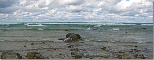 grand traverse bay at the light house