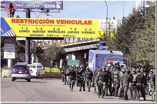 Paro abusivo en El Alto