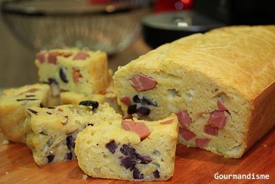 gourmandisme - bolo de azeitonas