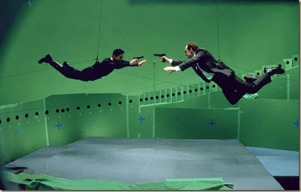 Photos étonnantes dans les coulisses de grands films (10)