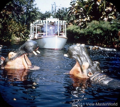 View-Master Adventureland (A177), Scene 3-1: Jungle Cruise