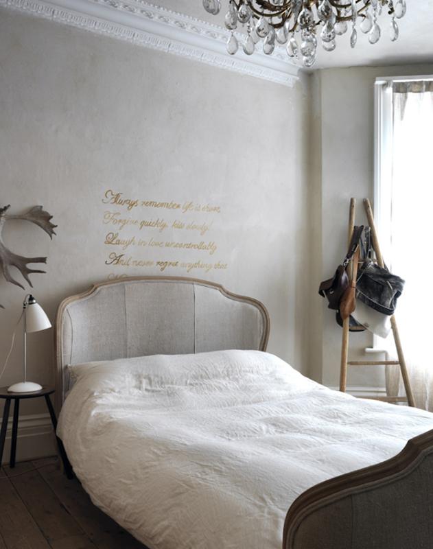 decoração minimalista com cinza e branco