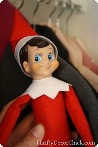 Elf on the Shelf, my nemesis
