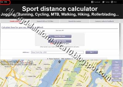 Calcular distancias running, cycling, walking …