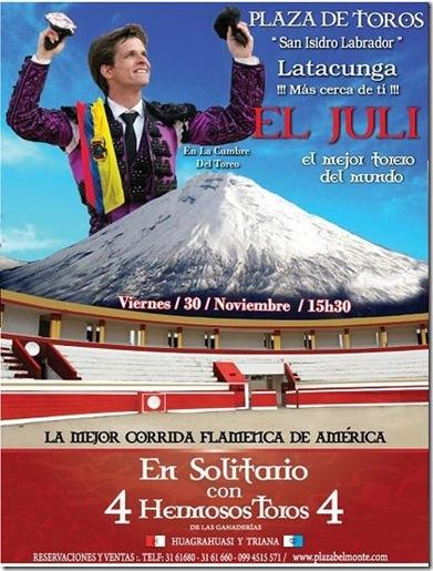 Cartel Latacunga-Ecuador 2012