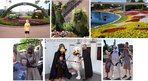 May is the best time to visit Disney World  - see the Flower and Garden Festival or Star Wars Weekend