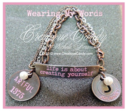 Wearing My Words Tim Holtz