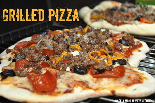 Grilled Pizza