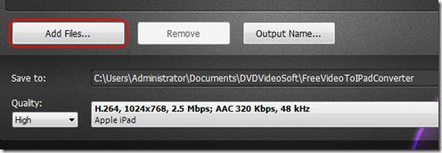การแปลงไฟล์วีดีโอให้สามารถเปิดได้กับ ipad