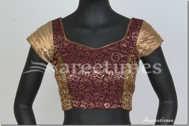 Maroon_Gold_Blouse_Factory