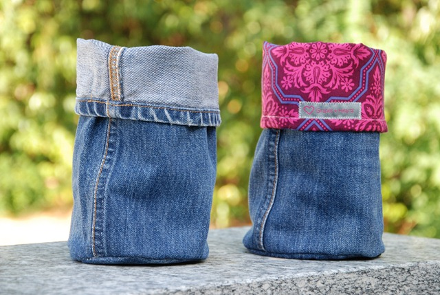 Upcycled Denim Baskets (2)
