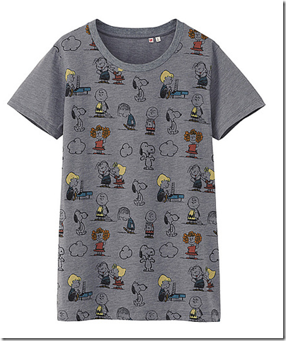 Uniqlo X Snoopy Tee - Woman 34