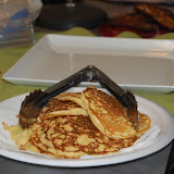 Chef Jeff - Pan Seared Catfish with Corm,Leek Pancakes and Quick Braised Cabbage with Browned Almond