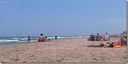 Playa El Pinedo-