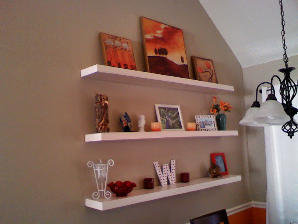 DIY Floating Wall Shelf