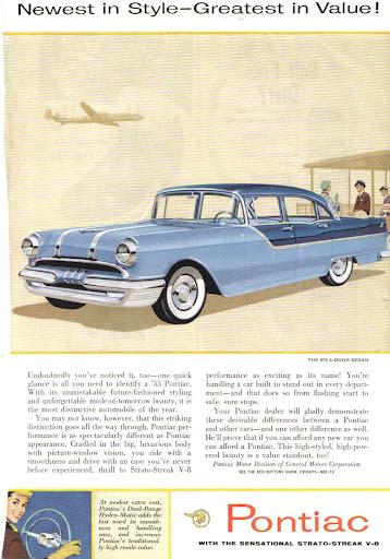 1955 Pontiac / 870 4-Door