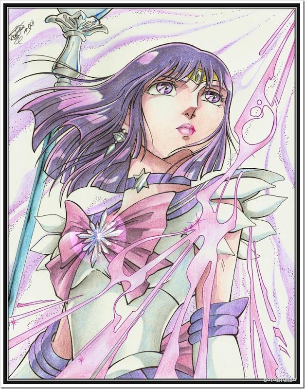 Sailor Saturn - Saint Seiya Araki