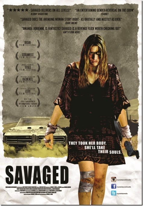 savaged poster