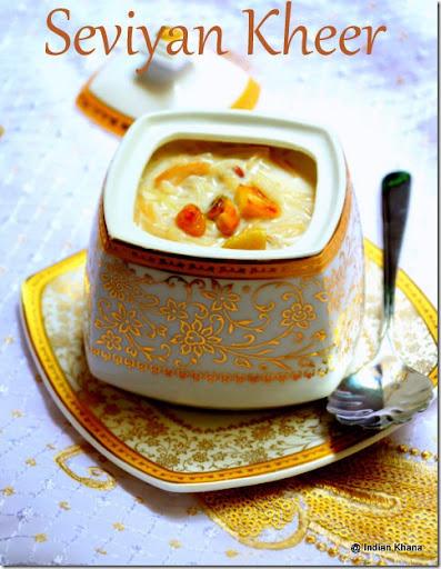 Seviyan (Vermicelli) Kheer Dessert - Manjula's Kitchen - Indian ...