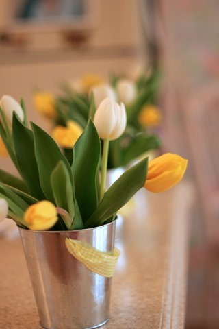 Baby Shower Tulips