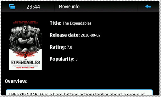 Movie Info - The Expendables