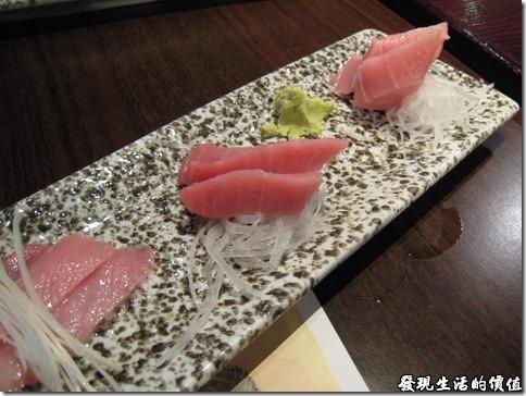 上海壽司天家。生魚片拼盤