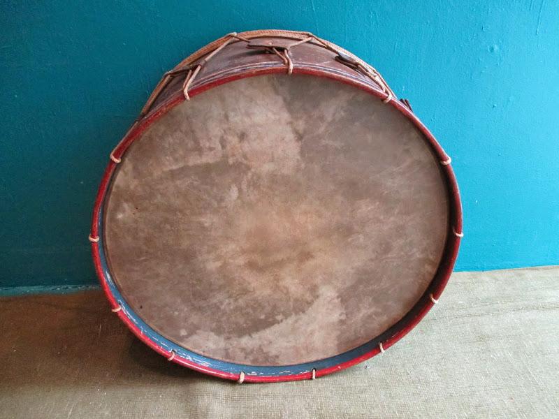 Vintage Marching Drum