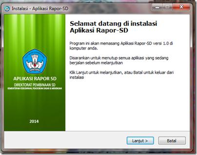 sd telah resmi meluncurkan aplikasi penilaian kurikulum 2013 aplikasi ...